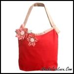 tas heejou bags floral unik dan lucu untuk sekolah dan kuliah