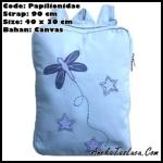 tas ransel heejou bags papilionidae, tas punggung unik untuk sekolah dan kuliah, tas handmade wanita remaja