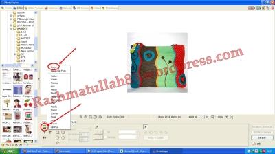 tutorial photoscape edit foto memberi gambar stempel, cara memberi gambar pada foto, edit photoscape