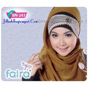 Bandana Faira BN 243, ciput daleman kerudung, jilbab modern cantik